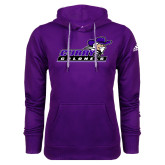 Adidas Climawarm Purple Team Issue Hoodie-Curry Colonels