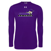 Under Armour Purple Long Sleeve Tech Tee-Curry Colonels