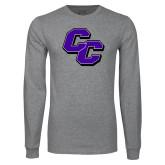 Grey Long Sleeve T Shirt-CC