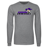 Grey Long Sleeve T Shirt-Curry Colonels