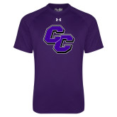 Under Armour Purple Tech Tee-CC