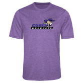 Performance Purple Heather Contender Tee-Curry Colonels