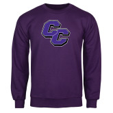 Purple Fleece Crew-CC