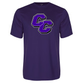 Performance Purple Tee-CC