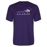 Performance Purple Tee-Curry Colonels