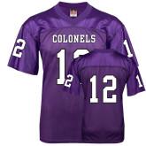 Replica Purple Adult Football Jersey-#12