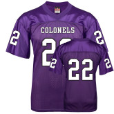 Replica Purple Adult Football Jersey-#22