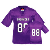 Youth Replica Purple Football Jersey-#88