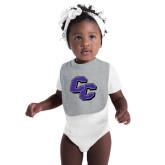 Grey Baby Bib-CC