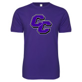 Next Level SoftStyle Purple T Shirt-CC