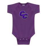 Purple Infant Onesie-CC