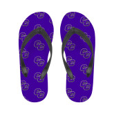 Ladies Full Color Flip Flops-CC