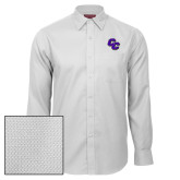Red House White Diamond Dobby Long Sleeve Shirt-CC