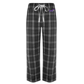 Black/Grey Flannel Pajama Pant-Curry Colonels