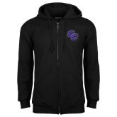 Black Fleece Full Zip Hoodie-CC