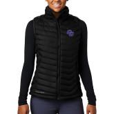 Columbia Lake 22 Ladies Black Vest-CC
