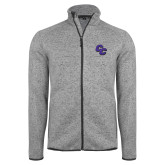 Grey Heather Fleece Jacket-CC