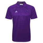 Adidas Climalite Purple Jacquard Select Polo-CC