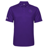 Adidas Climalite Purple Game Time Polo-CC
