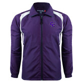 Colorblock Purple/White Wind Jacket-CC