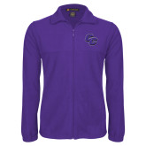 Fleece Full Zip Purple Jacket-CC
