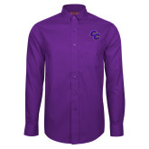 Red House Purple Long Sleeve Shirt-CC