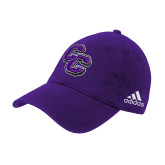 Adidas Purple Slouch Unstructured Low Profile Hat-CC