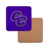 Hardboard Coaster w/Cork Backing-CC