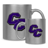 Full Color Silver Metallic Mug 11oz-CC