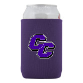 Collapsible Purple Can Holder-CC