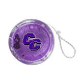 Light Up Purple YoYo-CC