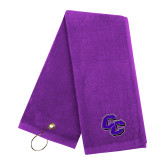 Purple Golf Towel-CC