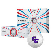 Callaway Supersoft Golf Balls 12/pkg-CC