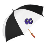62 Inch Black/White Vented Umbrella-CC
