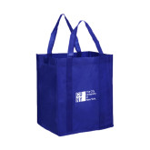 Non Woven Royal Grocery Tote-Official Logo