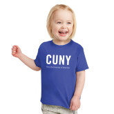 Toddler Royal T Shirt-CUNY Unboxed w/Tagline