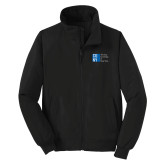 City University of NY Black Charger Jacket-Official Logo