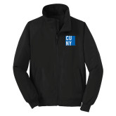 City University of NY Black Charger Jacket-CUNY
