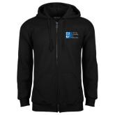 City University of NY Black Fleece Full Zip Hoodie-Official Logo