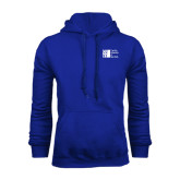 City University of NY Royal Fleece Hoodie-Official Logo