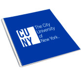 City University of NY College Spiral Notebook w/Clear Coil-Official Logo