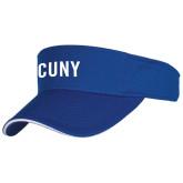 City University of NY Royal Flat Bill Snapback Hat-CUNY Unboxed