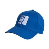 City University of NY Royal Heavyweight Twill Pro Style Hat-CUNY