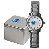 City University of NY Mens Stainless Steel Fashion Watch-CUNY
