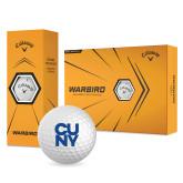 City University of NY Callaway Warbird Golf Balls 12/pkg-CUNY