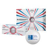 Callaway Supersoft Golf Balls 12/pkg-CUNY