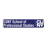 Medium Decal-CUNY SPS Two Line