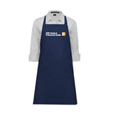 CUNY School of Prof Studies Full Length Navy Apron-
