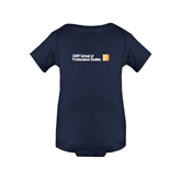 CUNY School of Prof Studies Navy Infant Onesie-
