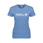 Ladies Arctic Blue T Shirt-